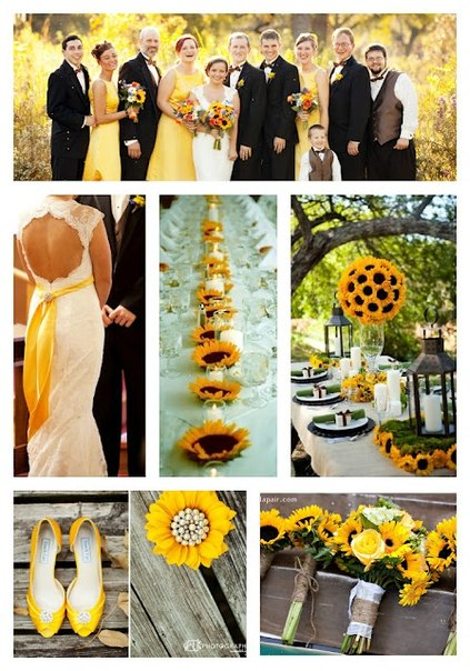 podsolnuh2 Свадьба в стиле «Подсолнух»