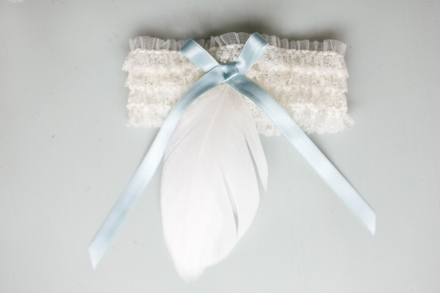 Мастер-класс. Милая подвязка невесты