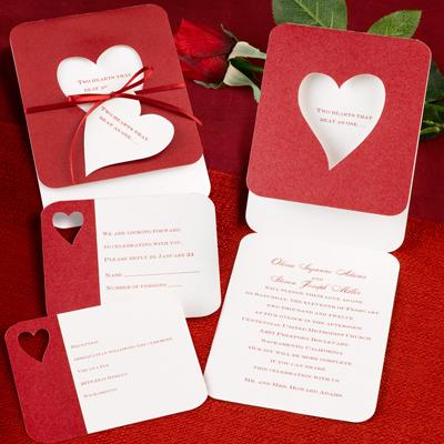 priglasheniya-na-svadbu-krasnye Яркая и страстная свадьба в красном цвете