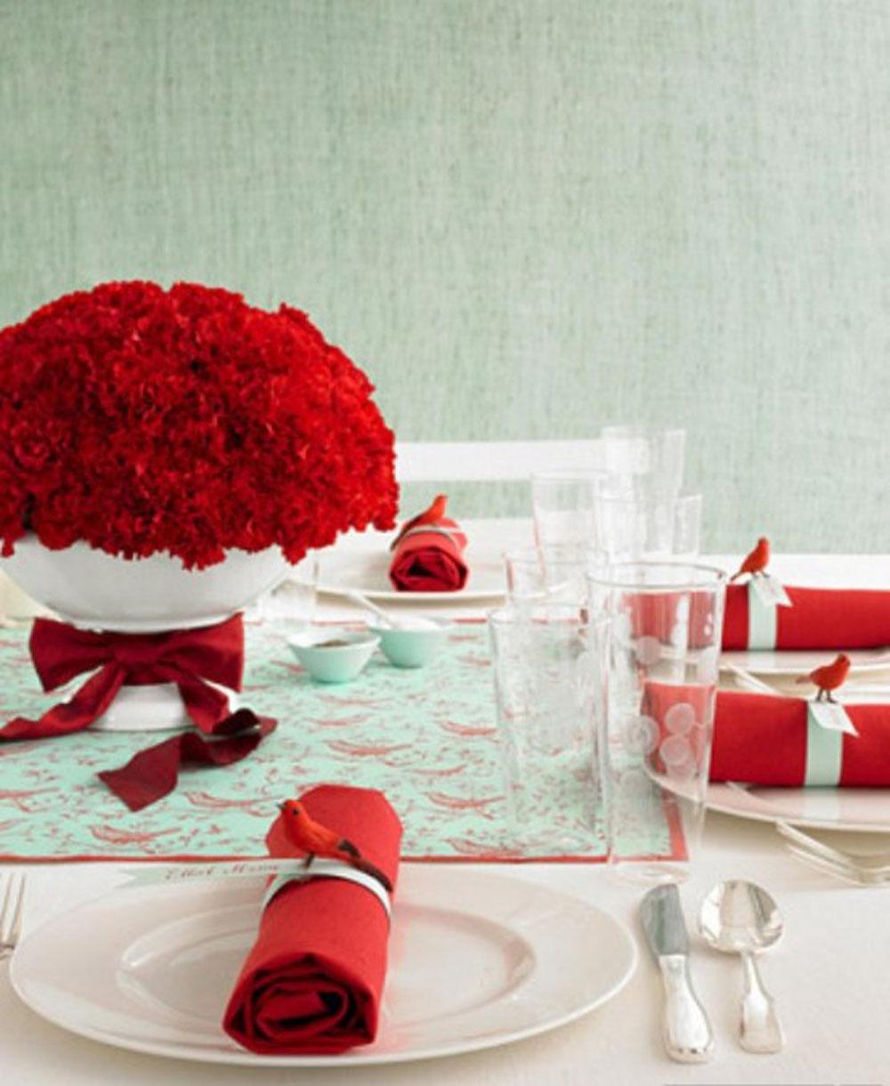 red-christmas-decor-19 Декор свадьбы в советском стиле