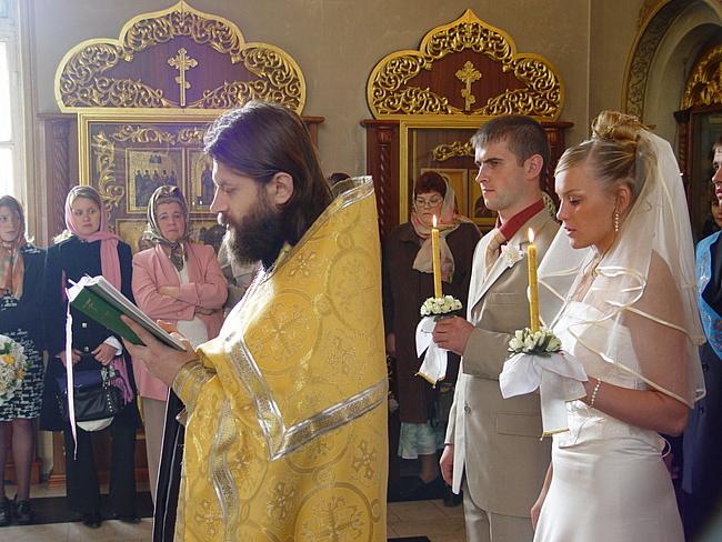 Венчание в церкви