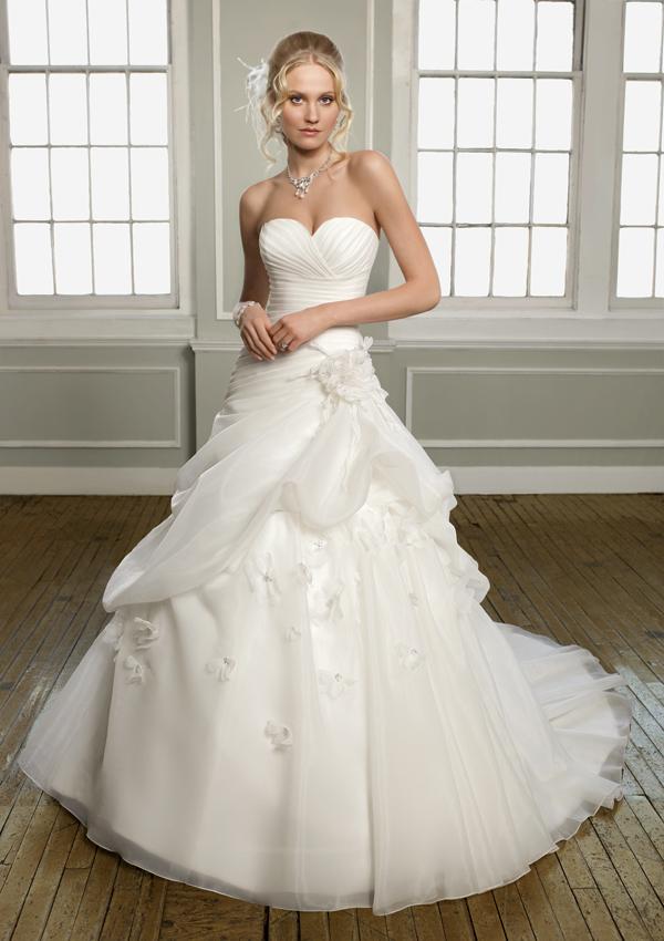 Платье для летней свадьбы