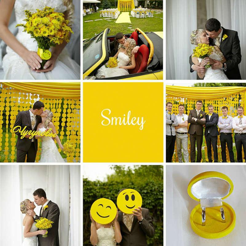 """smajly-ispolzuem-smajliki-na-svadbe Свадьба в стиле """"Смайл"""": используем мотивы смайликов при оформлении свадьбы"""