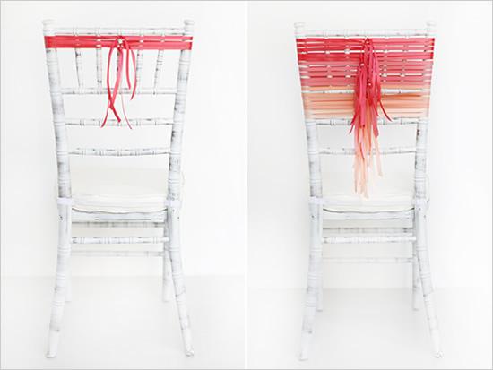 stulya2 Мастер-класс. Декор стульев лентами.