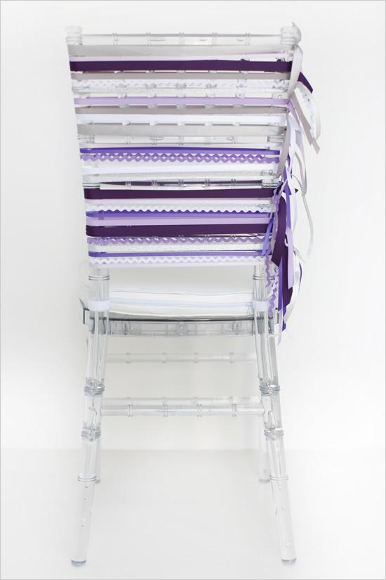 stulya7 Мастер-класс. Декор стульев лентами.