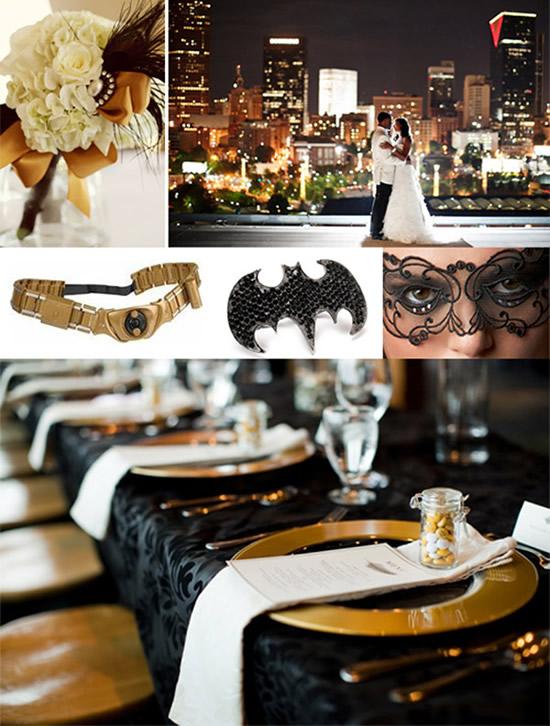 Свадьба в стиле Batman
