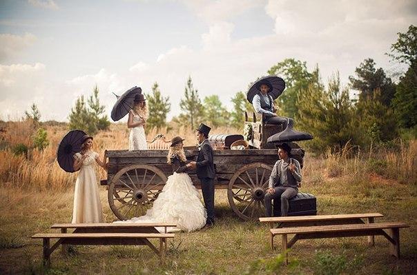 svadba-v-selskom-stile Свадьба в сельском стиле - модная свадебная тенденция