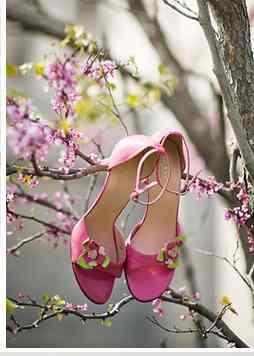 svadba-v-stile-sakura-3 Свадьба в стиле «Сакура»: прекрасная весенняя свадьба