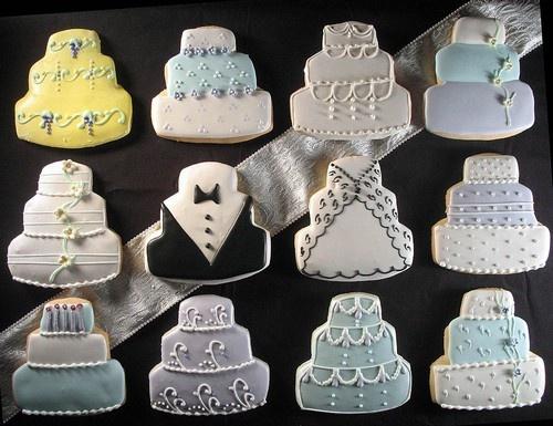 Свадебные печенья прекрасный вариант подарка для гостей