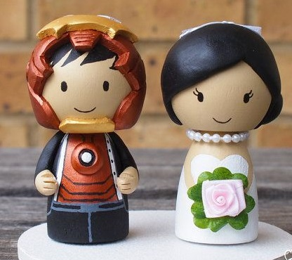 svadebnye-figurki-zheleznyj-chelovek Свадьба в стиле фильма Железный человек