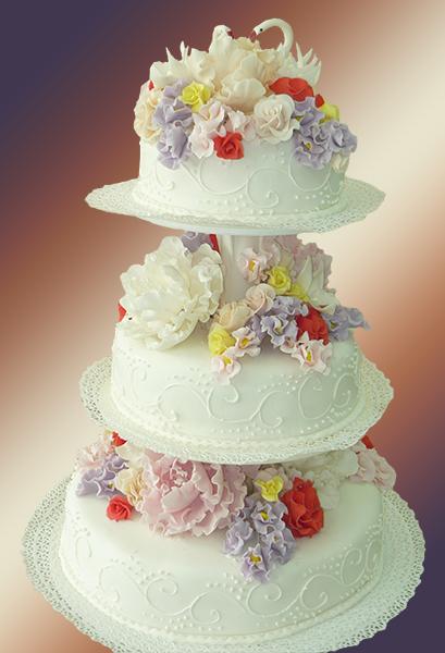 svadebnyj-tort Свадьба в сельском стиле - модная свадебная тенденция
