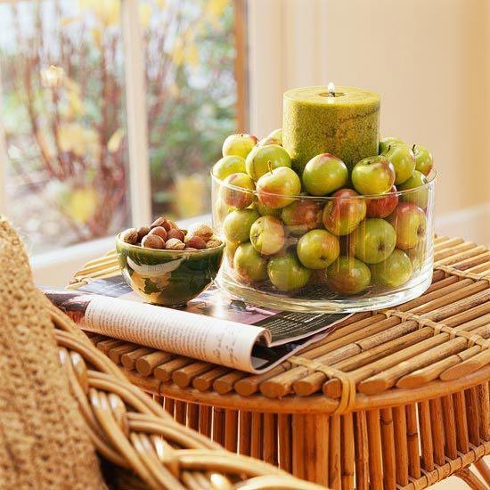 una-decoracion-para-primavera Осенние украшения свадебного стола