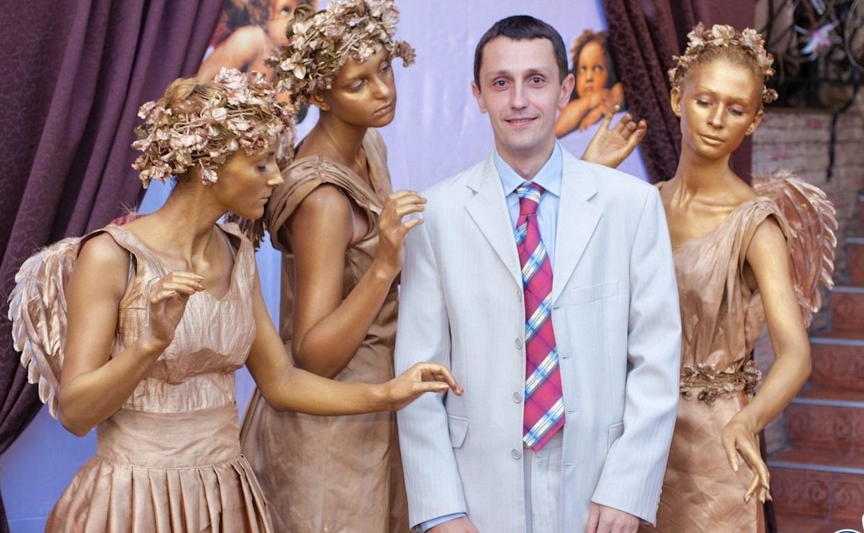 vera-nadezhda-lyubov Живые скульптуры на свадьбу