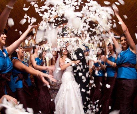 Способы поразить гостей при первом появлении на свадьбе