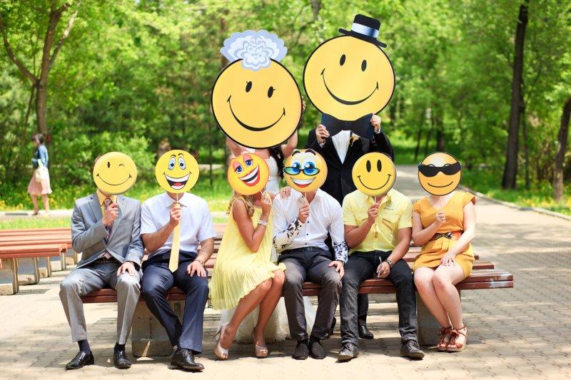 """wedding_by-N.Matvienko-164 Свадьба в стиле """"Смайл"""": используем мотивы смайликов при оформлении свадьбы"""