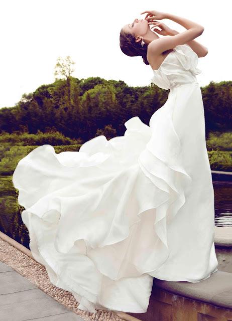 Свадебные наряды от дизайнера Yumi Katsura