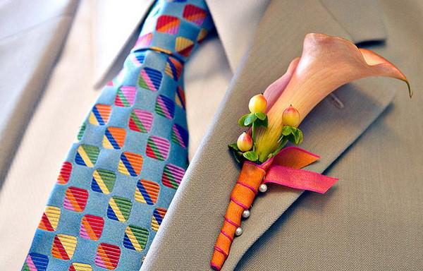 Как правильно выбрать галстук жениху: цвет, узоры и длина галстука