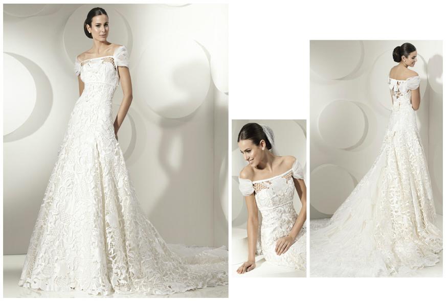 3 Свадебные платья Franc Sarabia