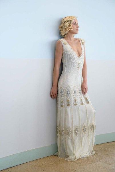 Свадебные платья в ретро стиле 30-х годов от Vicky Rowe