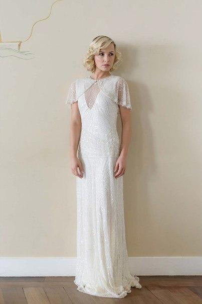 30-h-godov-ot-Vicky-Rowe-10 Свадебные платья в ретро стиле 30-х годов от Vicky Rowe