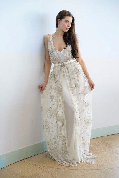 30-h-godov-ot-Vicky-Rowe-3 Свадебные платья в ретро стиле 30-х годов от Vicky Rowe