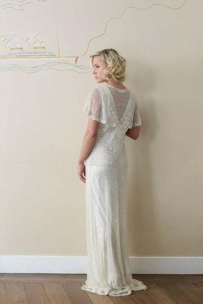 30-h-godov-ot-Vicky-Rowe-4 Свадебные платья в ретро стиле 30-х годов от Vicky Rowe