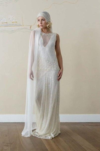 30-h-godov-ot-Vicky-Rowe-5 Свадебные платья в ретро стиле 30-х годов от Vicky Rowe