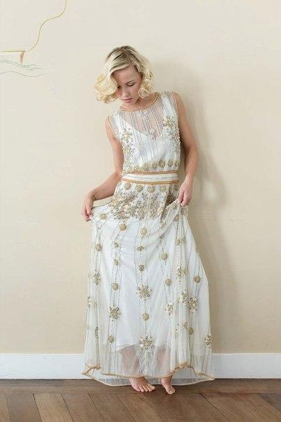 30-h-godov-ot-Vicky-Rowe-7 Свадебные платья в ретро стиле 30-х годов от Vicky Rowe