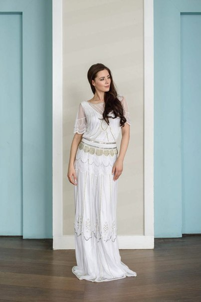 30-h-godov-ot-Vicky-Rowe-8 Свадебные платья в ретро стиле 30-х годов от Vicky Rowe