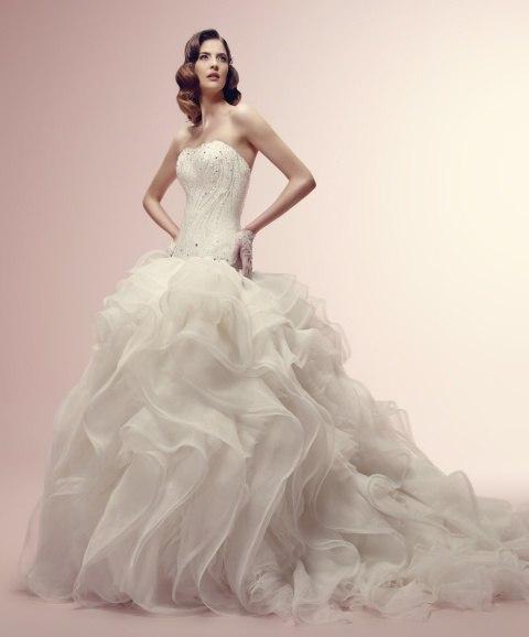 Alessandra-Rinaudo-6 Коллекция свадебных платьев от Alessandra Rinaudo идеальный вариант наряда для утонченных и романтичных невест
