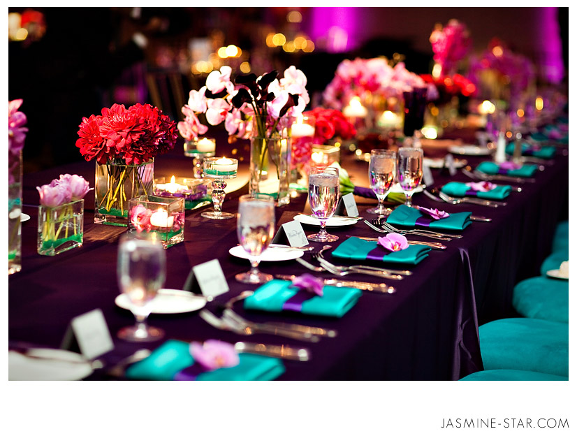 BlogBrianVictoriaWedding0013 Какие есть свадебные аксессуары для украшения свадебного стола