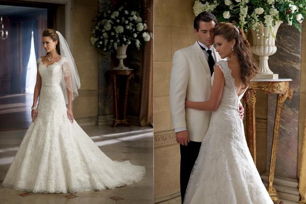 Colectia-de-rochii-de-mireasa-David-Tutera-toamna-2013-5 Свадебные платья  от David Tutera