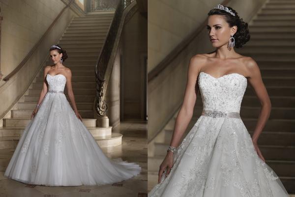 Colectia-de-rochii-de-mireasa-David-Tutera-toamna-2013-6 Свадебные платья  от David Tutera