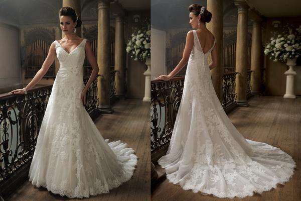 David-Tutera-for-Mon-Cherie-Bridal-Gown-Collection-Fall-2013_08 Свадебные платья  от David Tutera