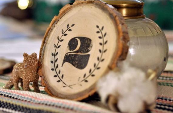 Мастер класс: Деревянные таблички для рассадки гостей