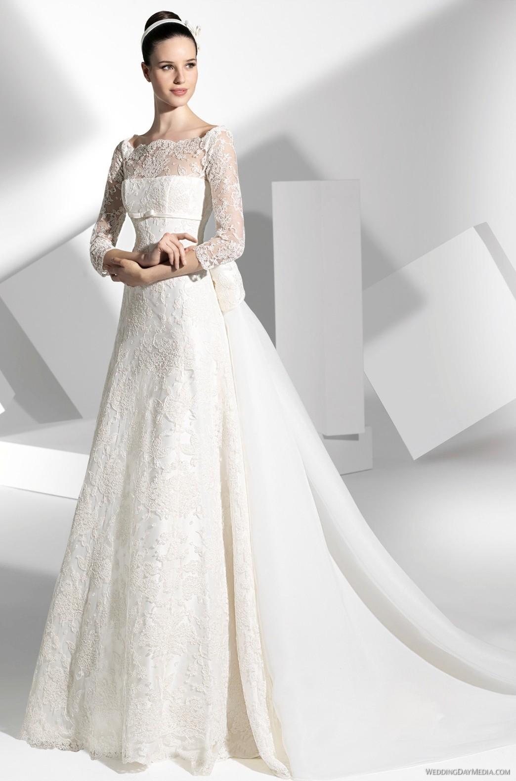 FS-2013-LASTON-1 Свадебные платья Franc Sarabia