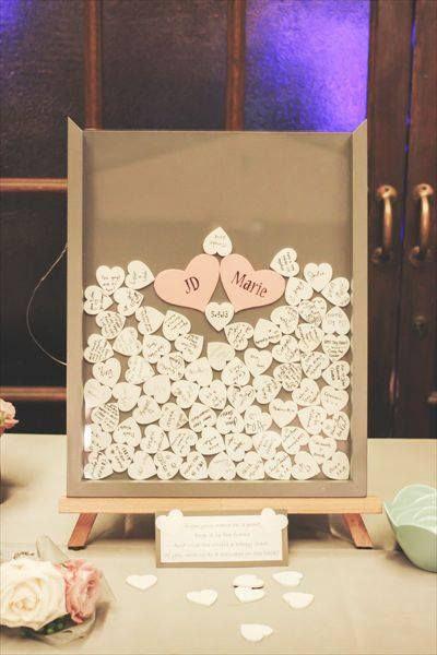 Свадьба в стиле нежных сердечек