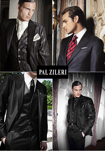 Свадебные мужские костюмы от Pal Zileri