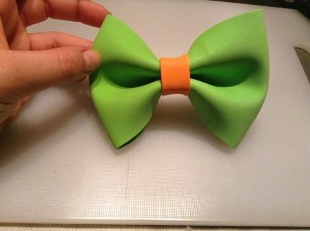 Мастер-класс: галстук-бабочка для свадебной фотосесии