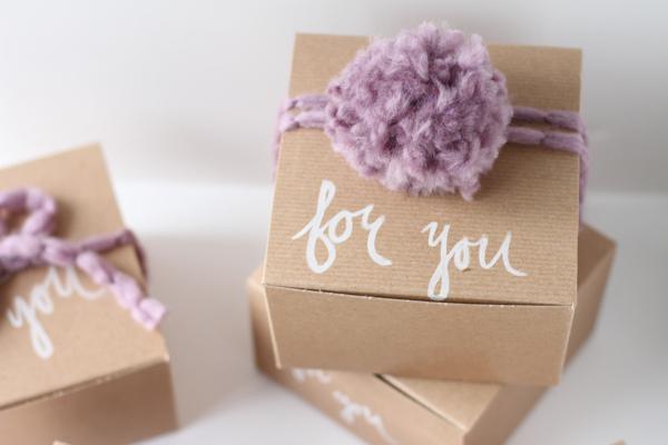 Мастер класс: картонные бонбоньерки на свадьбу для гостей