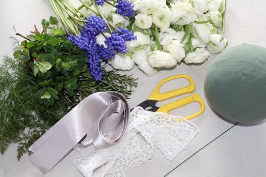 Мастер класс по изготовлению букета шара для невесты