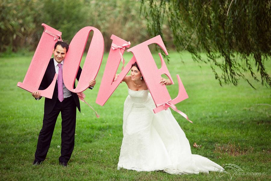 bukvyobemnye11 Мастер-класс: объемные буквы из картона для свадьбы