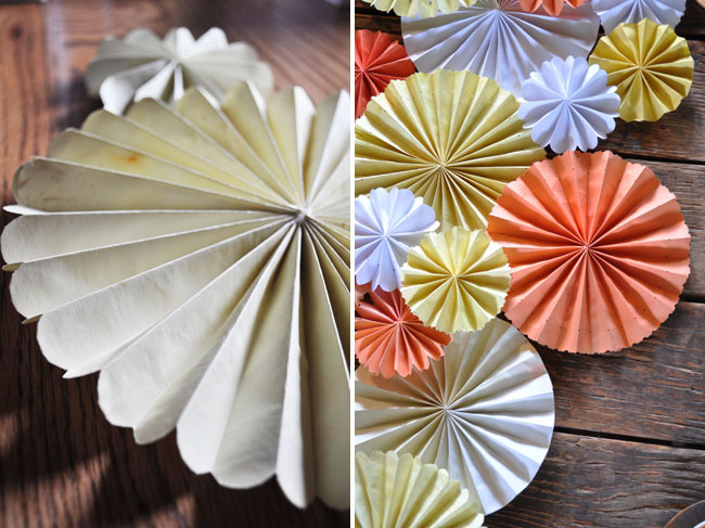 Мастер класс: бумажный декор для свадьбы