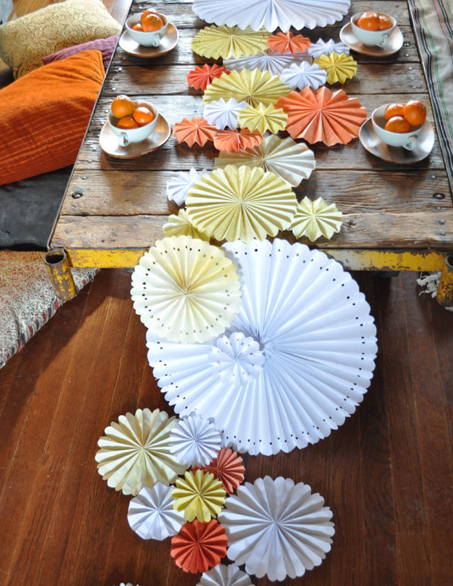 bumazhnyj-dekor-dlya-svadby-2 Мастер класс: бумажный декор для свадьбы