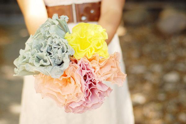 bumazhtsvet Мастер-класс: бумажные цветы для декора свадьбы и букета невесты