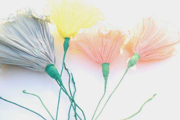 Мастер-класс: бумажные цветы для декора свадьбы и букета невесты