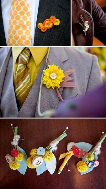 cdc455da4fd89b42243936fdb6459f59_b Креативная пуговичная свадьба