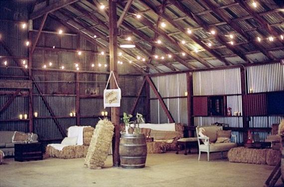 dekor-zala-vestrn Свадьба в стиле Western