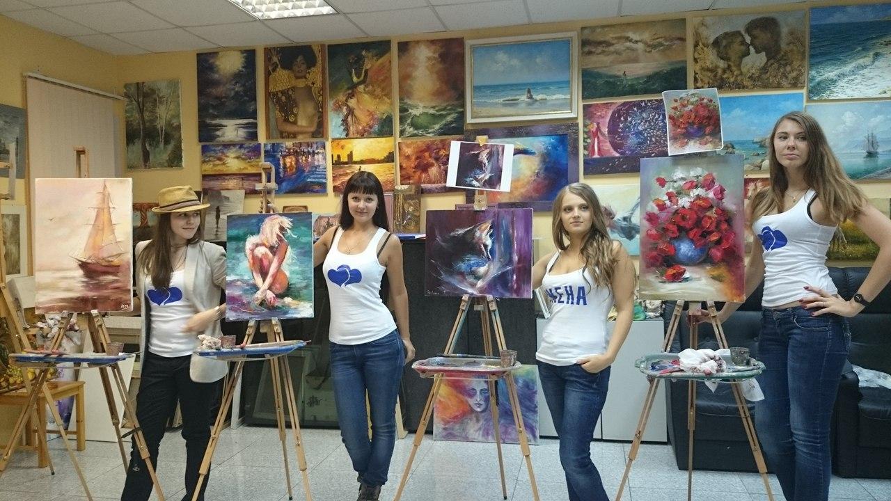 Девичник в художественной школе – оригинальная идея для замены стандартного праздника