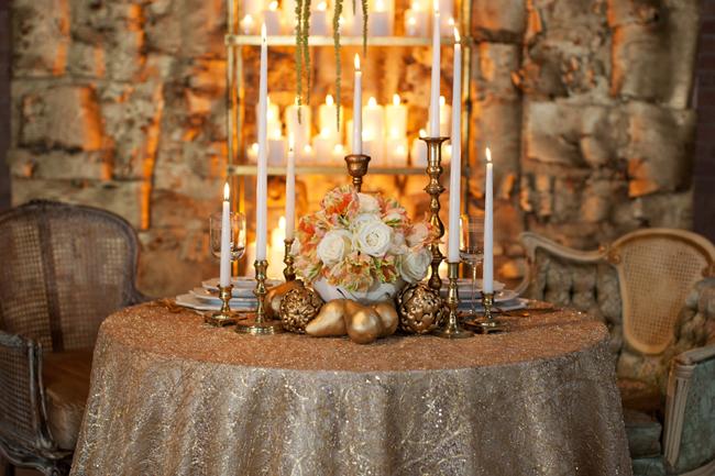 elegant-gold-wedding Свадьба в викторианском стиле